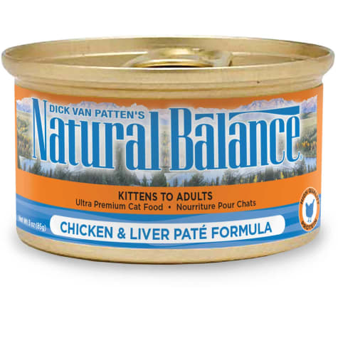 Natural Balance Ultra Premium Chicken & Liver Pate Formula Wet Cat Food