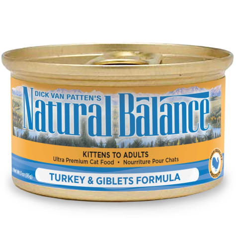 Natural Balance Turkey & Giblets Formula Wet Cat Food