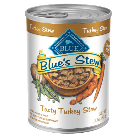 Blue Buffalo Blue's Stew Tasty Turkey Stew Adult Canned Dog Food