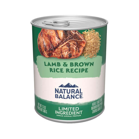Natural Balance L.I.D. Limited Ingredient Diets Lamb & Brown Rice Formula Wet Dog Food