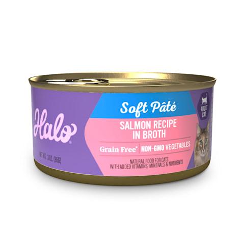 Halo Grain Free Salmon Stew Recipe Adult Wet Cat Food