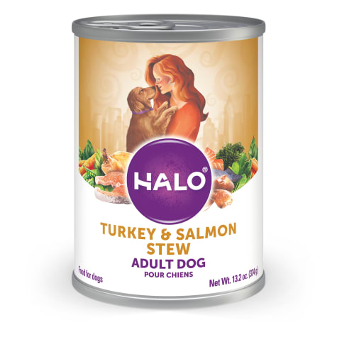Halo Holistic Turkey and Salmon Recipe Canned Dog Food