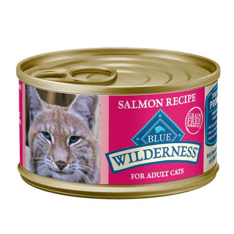 Blue Buffalo Blue Wilderness Salmon Recipe Wet Cat Food