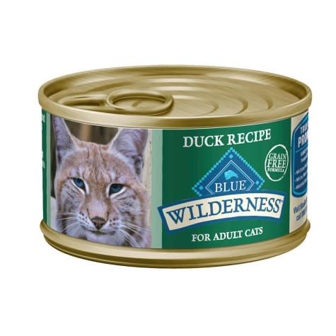 Blue Buffalo Blue Wilderness Duck Recipe Wet Cat Food