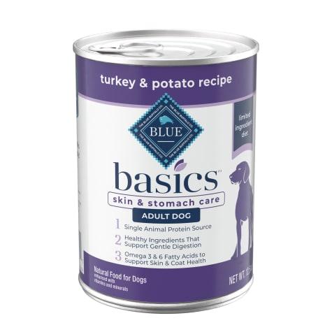 Blue Buffalo Blue Basics Grain-Free Turkey & Potato Recipe Wet Dog Food