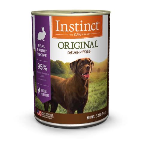 Instinct Original Grain-Free Real Rabbit Recipe Wet Dog Food