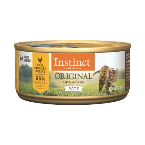 Instinct Original Grain-Free Pate Real Chicken Recipe Wet Cat Food