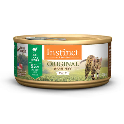 Instinct Grain-Free Lamb Canned Cat Food by Nature's Variety