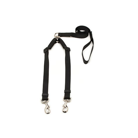Aspen Pet by Petmate Take Two Adjustable Leash in Black, 1