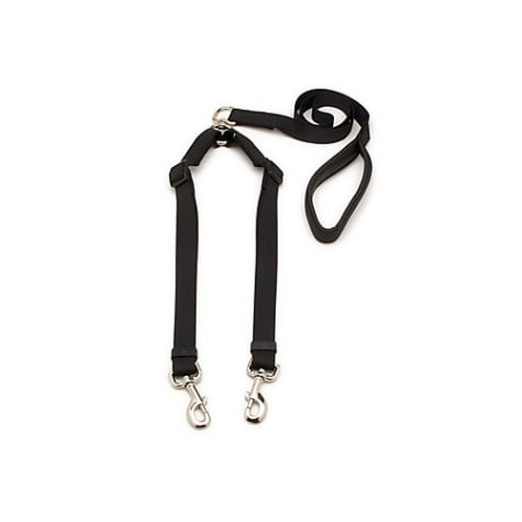 Aspen Pet by Petmate Take Two Adjustable Leash with Cushion Grip in Black, 1
