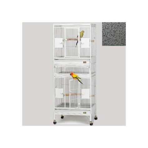 Avian Adventures Multi Vista Bird Cages in White