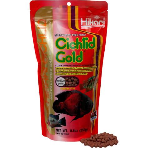 Hikari Cichlid Gold Medium Pellets