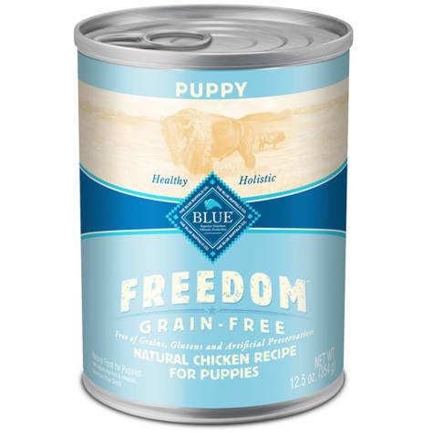 Blue Buffalo Blue Freedom Grain-Free Puppy Grain-Free Chicken Recipe Wet Dog Food