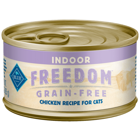 Blue Buffalo Blue Freedom Grain Free Indoor Chicken Recipe Adult Canned Cat Food