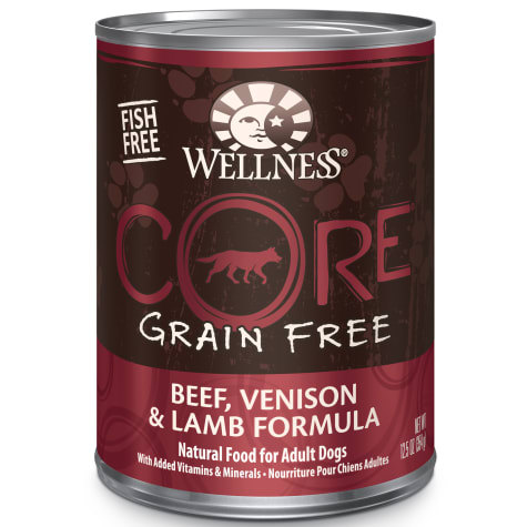 Wellness CORE Natural Grain Free Beef Venison & Lamb Wet Dog Food