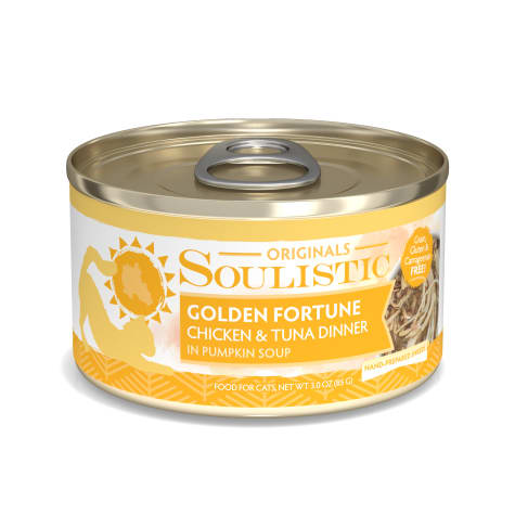 Soulistic Golden Fortune Chicken & Tuna Dinner in Pumpkin Soup Wet Cat Food