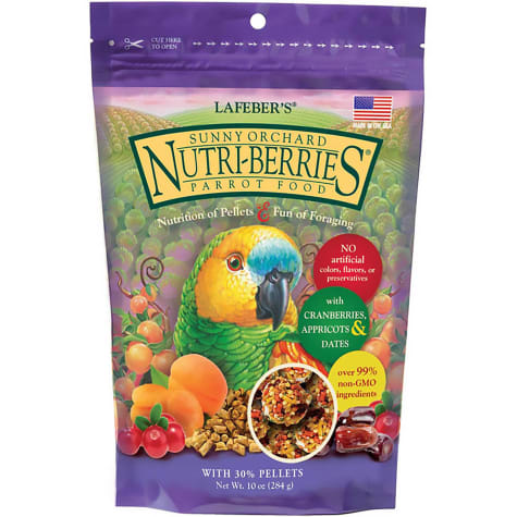 Lafeber's Sunny Orchard Parrot Nutri-Berries Parrot Food