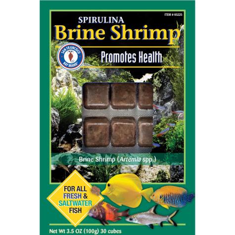 Frozen Spirulina Brine Shrimp