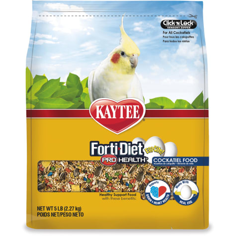 Kaytee Forti-Diet Pro-Health Egg-Cite! Cockatiel Food