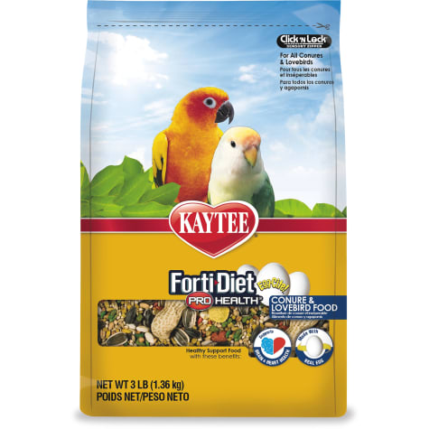 Kaytee Forti-Diet Pro Health Egg-Cite! Healthy Support Diet for Conures & Lovebirds