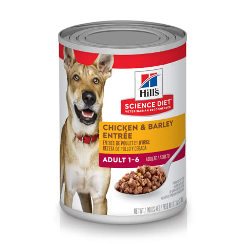 Hill's Science Diet Adult Chicken & Barley Entree Canned Dog Food