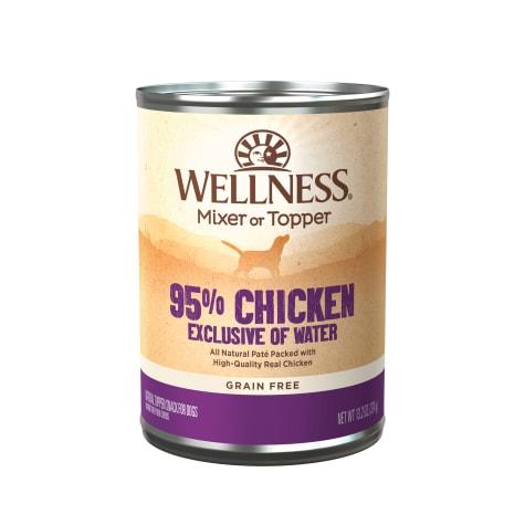 Wellness Natural Grain Free 95-Percent Chicken Recipe Wet Dog Food