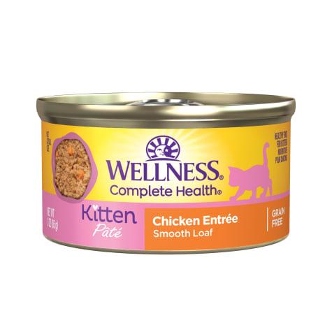 Wellness Complete Health Natural Grain Free Kitten Wet Cat Food