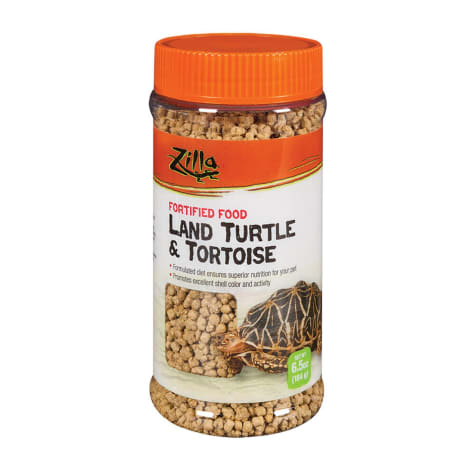 Zilla Land Turtle & Tortoise Fortified Daily Food
