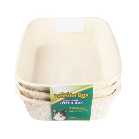 Kitty's WonderBox Disposable Cat Litter Box