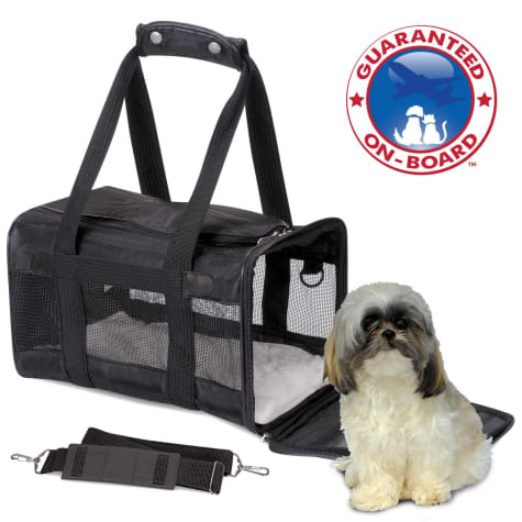 The Original Sherpa Dog Carrier in Black