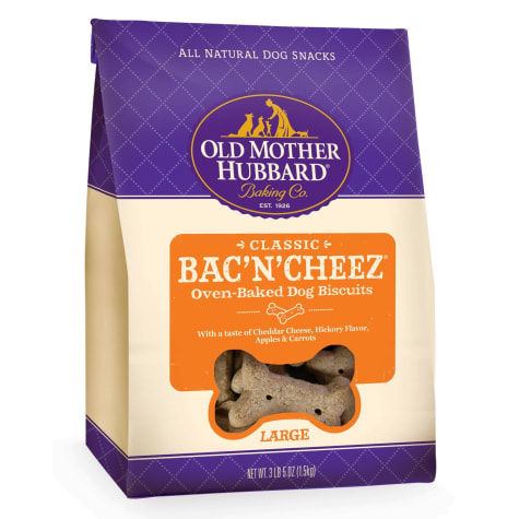 Old Mother Hubbard Crunchy Classic Natural Bac'N'Cheez Large Dog Biscuits
