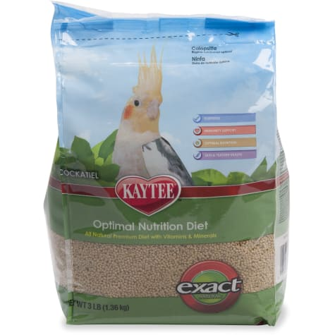 Kaytee Exact Natural Optimal Nutrition Diet for Cockatiels