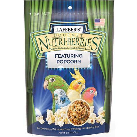 Lafeber's Nutri-Berries with Popcorn Gourmet Treat