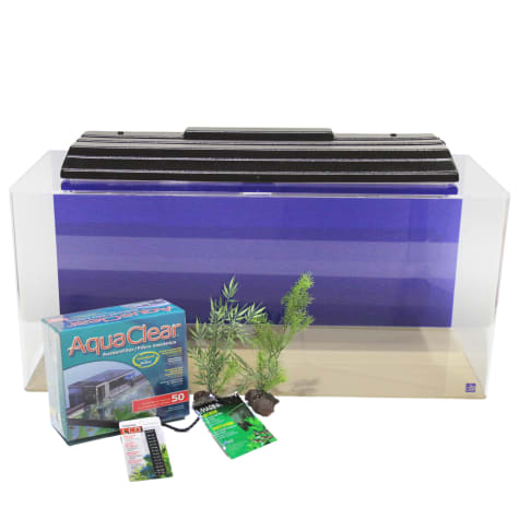 SeaClear Rectangular 40 Gallon Junior Executive Kits in Blue