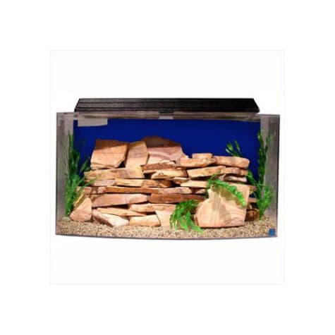 SeaClear Bowfront 36 Gallon Aquarium Combos in Blue