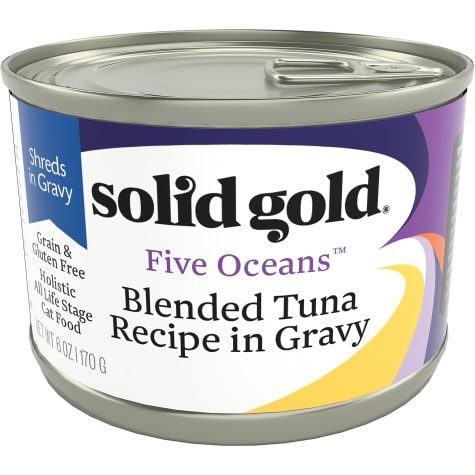 Solid Gold Five Oceans Tuna in Gravy Grain Free Canned Cat Food