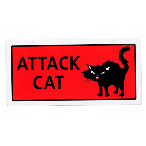 Hillman Sign Center - Attack Cat