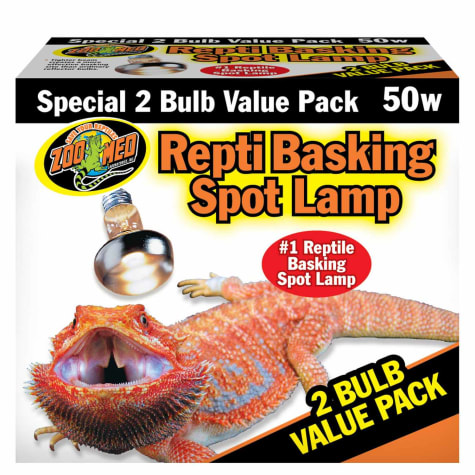 Zoo Med Repti Basking Spot Lamp Value Pack, 50 Watts