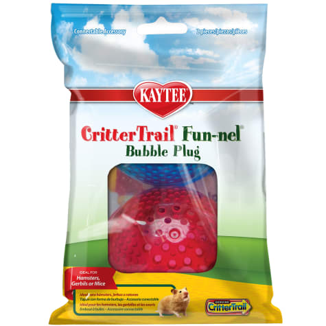 Kaytee CritterTrail Fun-nel Bubble Plugs, 2 Pk.