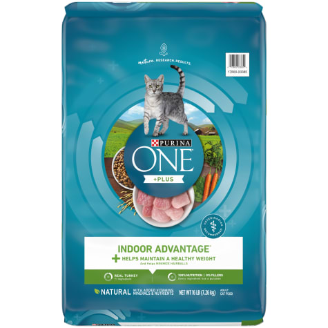 Purina ONE Hairball Weight Control Indoor Advantage Dry Cat Food