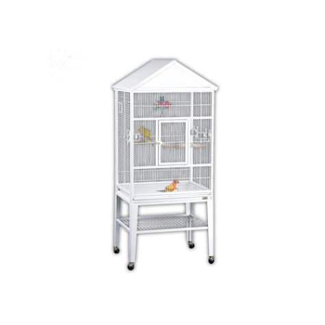 Avian Adventures Loro Flight Bird Cages in White