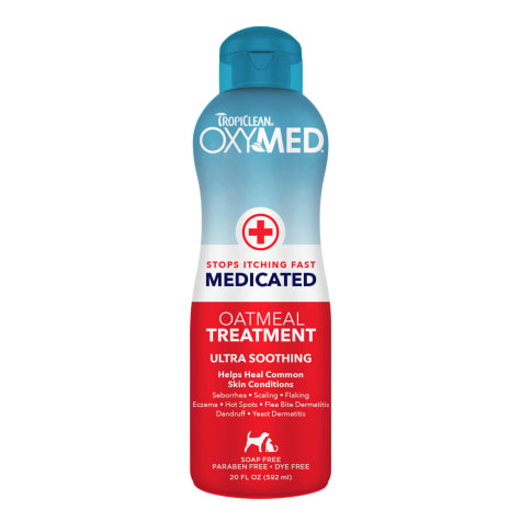 TropiClean OxyMed Medicated Oatmeal Rinse