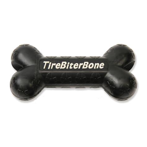 Mammoth TireBiter Bone with Treat Station Dog Toy