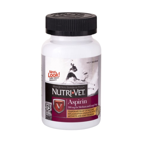 Nutri-Vet Nutritionals K-9 Aspirin for Medium & Large Dogs