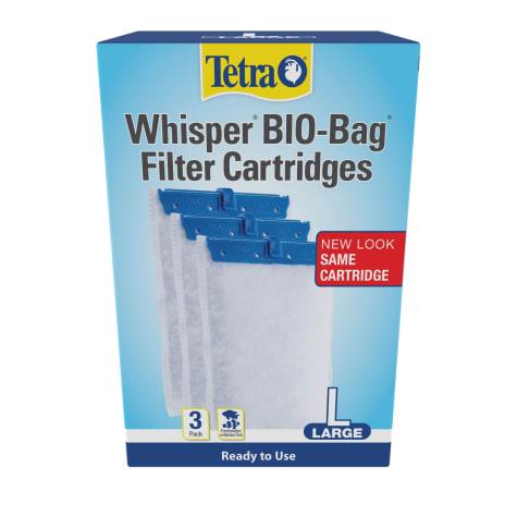 Tetra Whisper Bio-Bag Disposable Filter Cartridge For Aquariums