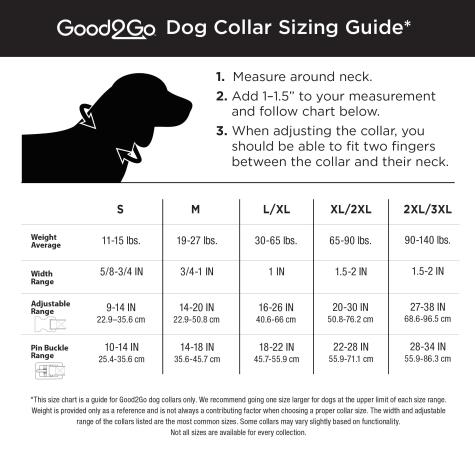 Good2go Hibiscus Dog Collar Large Petco