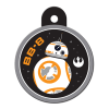 STAR WARS BB-8 Engravable Circle Pet I.D. Tag