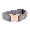 Bond & Co. Regal Rose Gold and Grey Dog Collar