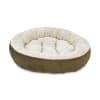 Harmony Textured Round Cat Bed