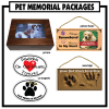 Imagine This Memorial Pet Urn Package
